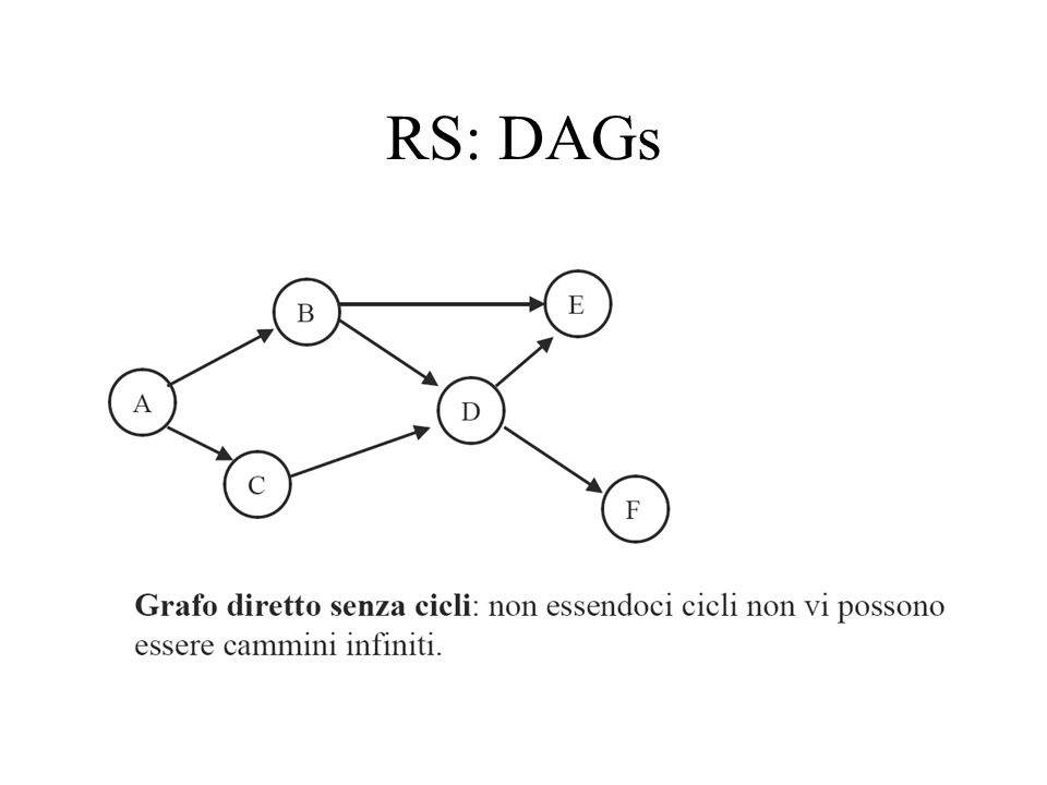 RS: DAGs