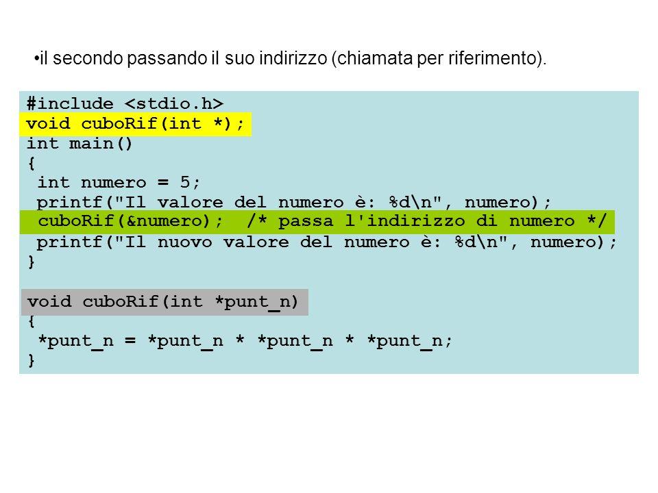 #include int main() { int numero = 5; printf(