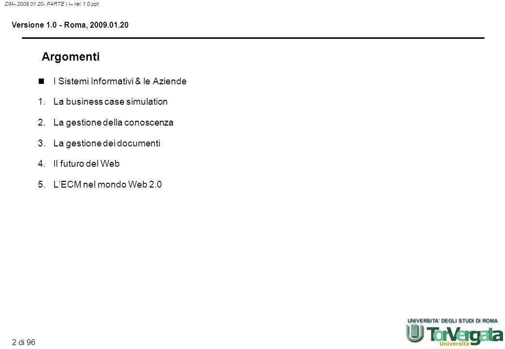 2 di 96 DM– 2009.01.20- PARTE I I– rel.