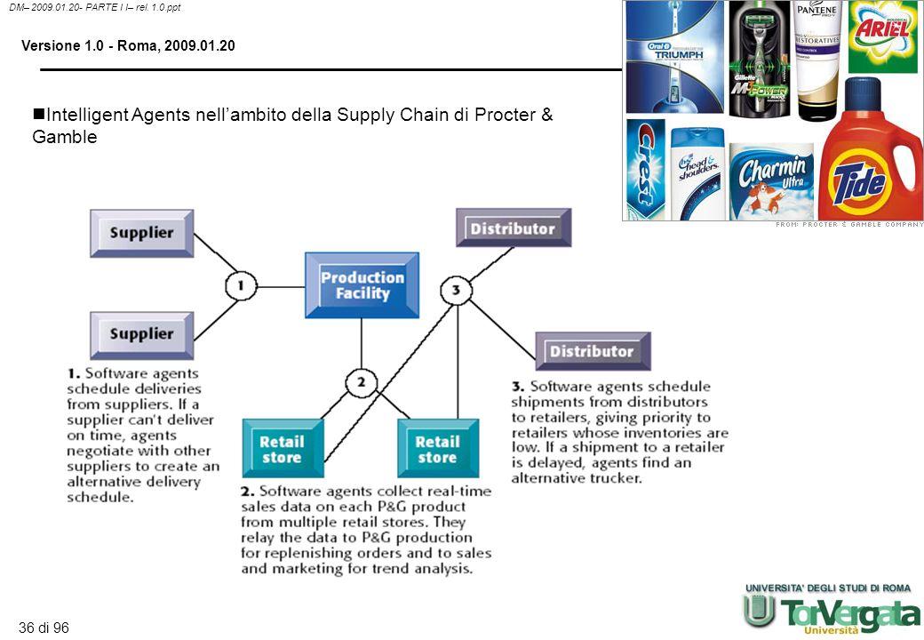 35 di 96 DM– 2009.01.20- PARTE I I– rel. 1.0.ppt Versione 1.0 - Roma, 2009.01.20 Hybrid AI system Si tratta di sistemi che integrano molteplici tecnic