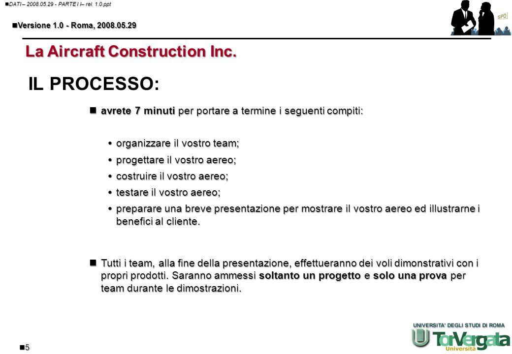 4 DATI – 2008.05.29 - PARTE I I– rel. 1.0.ppt DATI – 2008.05.29 - PARTE I I– rel. 1.0.ppt Versione 1.0 - Roma, 2008.05.29 Versione 1.0 - Roma, 2008.05