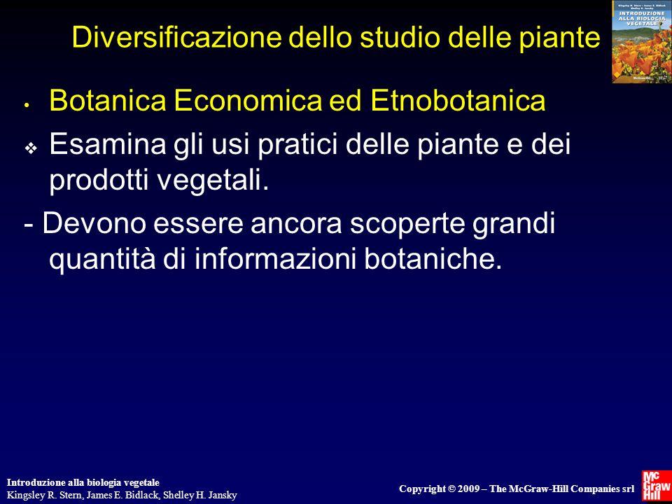 Introduzione alla biologia vegetale Kingsley R.Stern, James E.