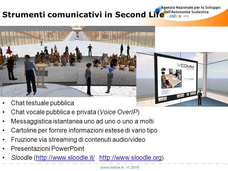 La conferenza Slanguage http://www.slanguages.net/ La conferenza Slanguages unisce insieme professionisti e ricercatori nel campo delleducazione delle lingue attraverso Second Life, in un evento di 24 ore, per celebrare le lingue e le culture allinterno del mondo virtuale 3D.