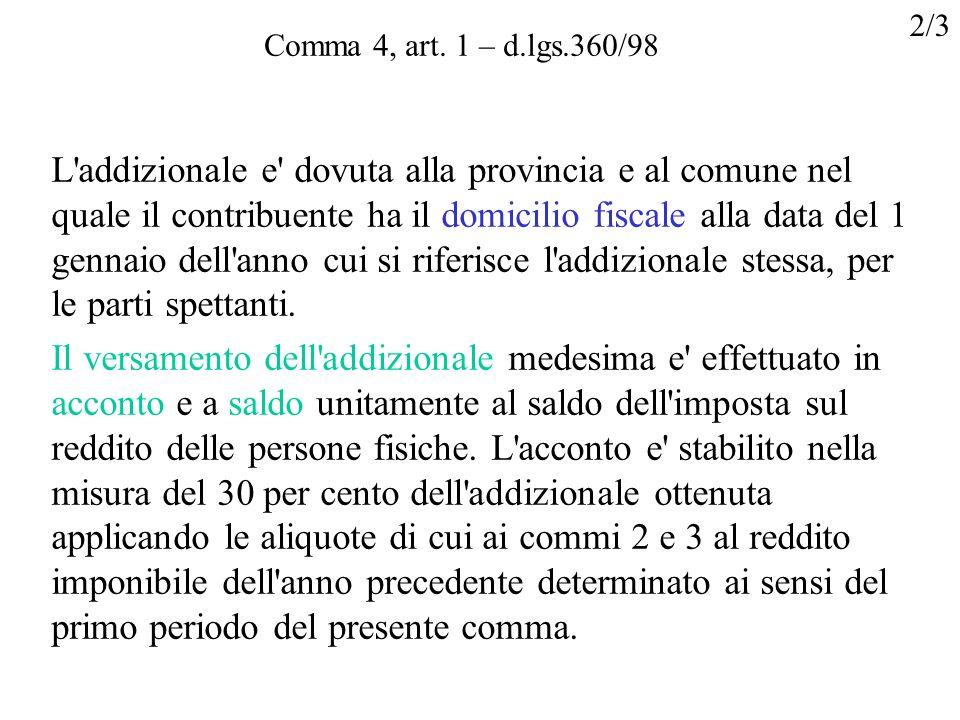 Comma 4, art.