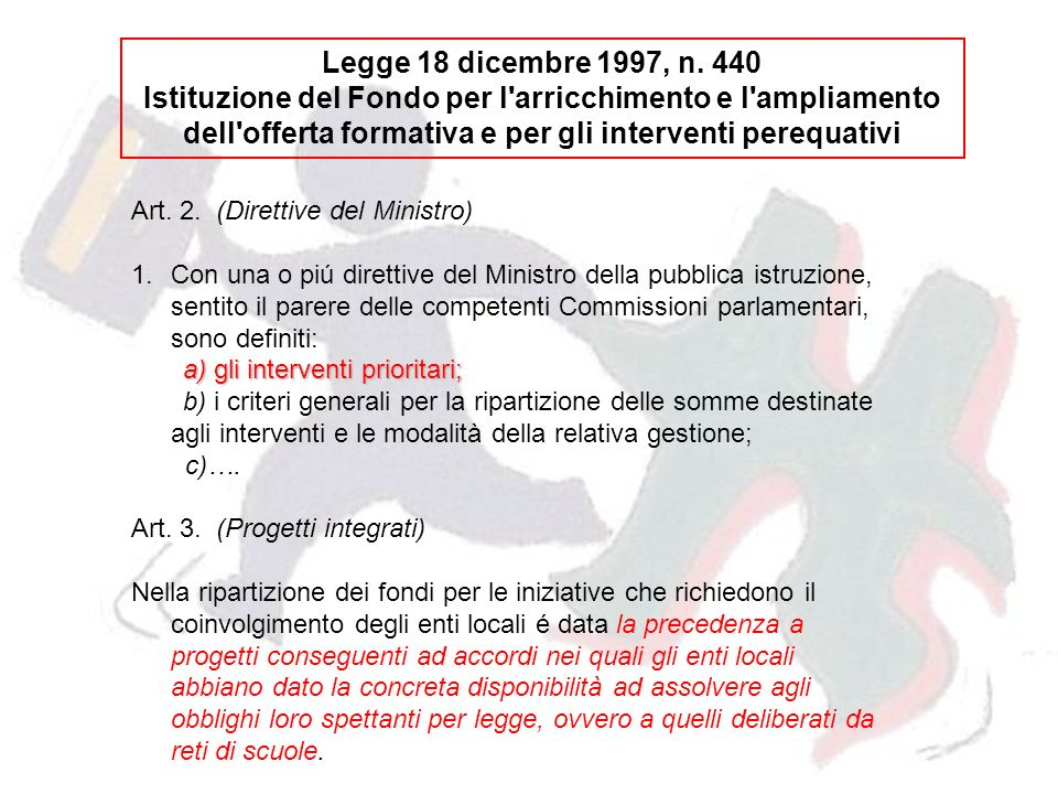 Legge 18 dicembre 1997, n.