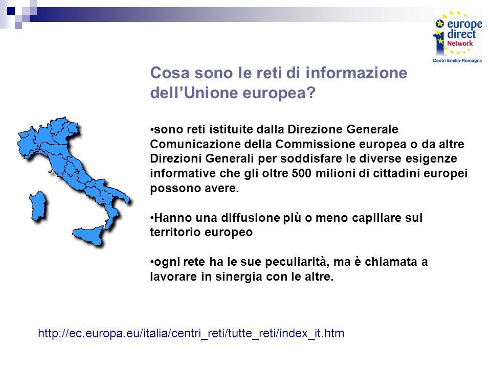Cosa sono le reti di informazione dellUnione europea.