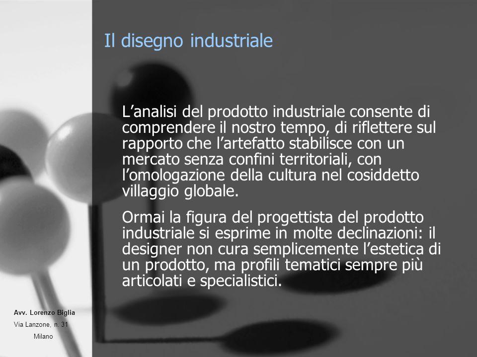 Il disegno industriale Lanalisi del prodotto industriale consente di comprendere il nostro tempo, di riflettere sul rapporto che lartefatto stabilisce