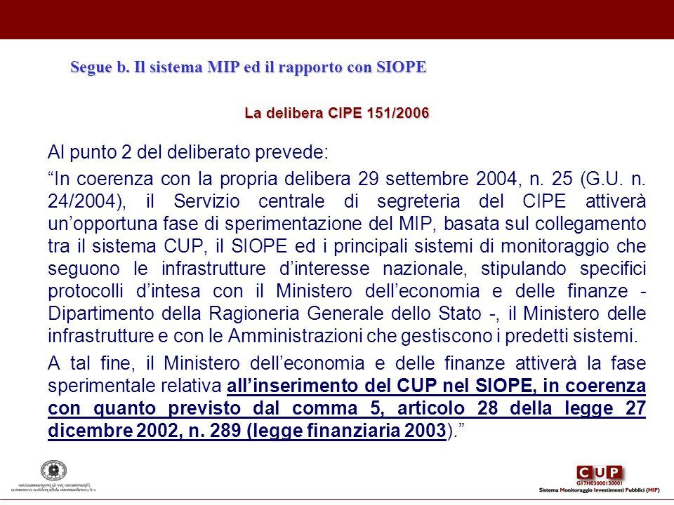 Al punto 2 del deliberato prevede: In coerenza con la propria delibera 29 settembre 2004, n. 25 (G.U. n. 24/2004), il Servizio centrale di segreteria