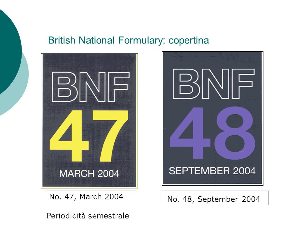 British National Formulary: copertina No. 47, March 2004 No.