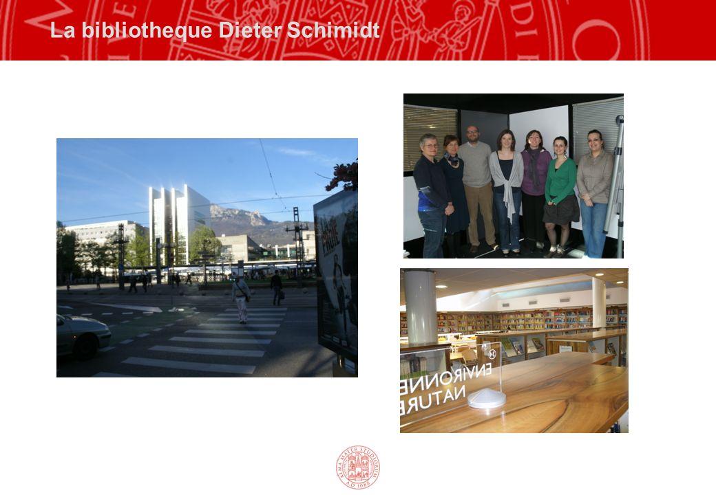 La bibliotheque Dieter Schimidt