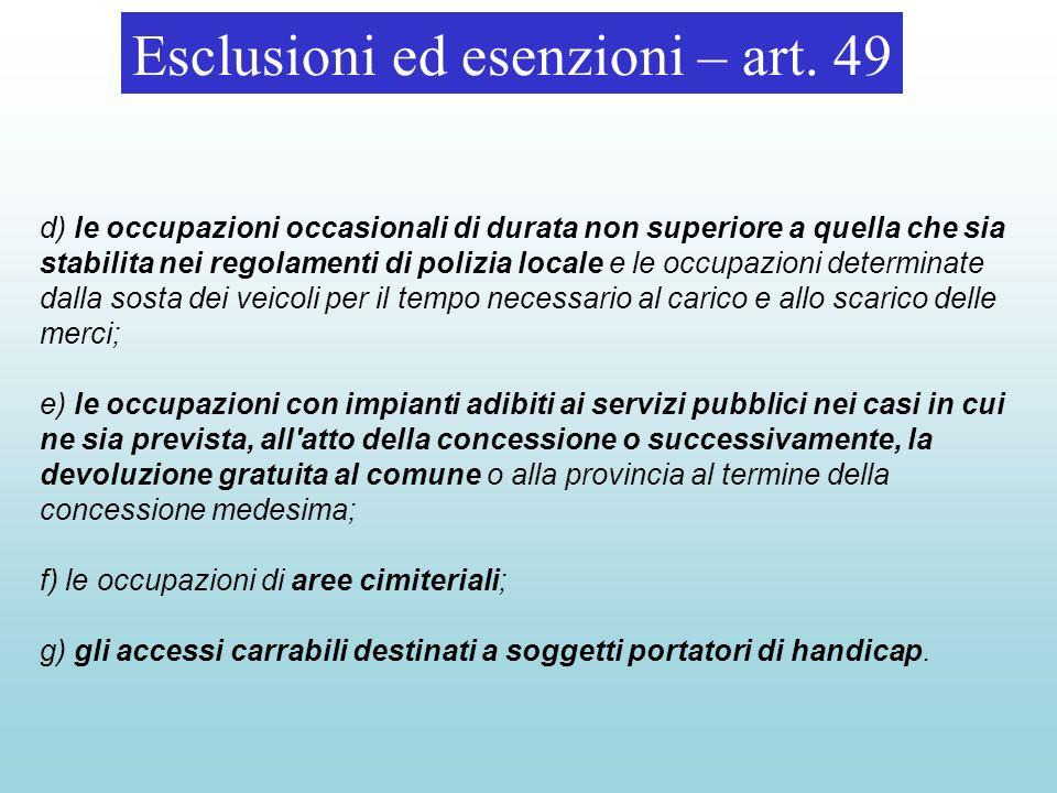 Sanzioni – art.53 1.