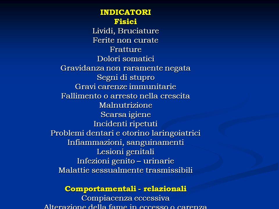 I bambini maltrattati e abusati: alcuni dati Il quadro sintetico dei dati che viene riportato nasce dallanalisi della casistica che dal gennaio 1985 al giugno 1997 è giunta allattenzione del Centro per il bambino maltrattato e la cura della crisi familiare (CBM) DI Milano.