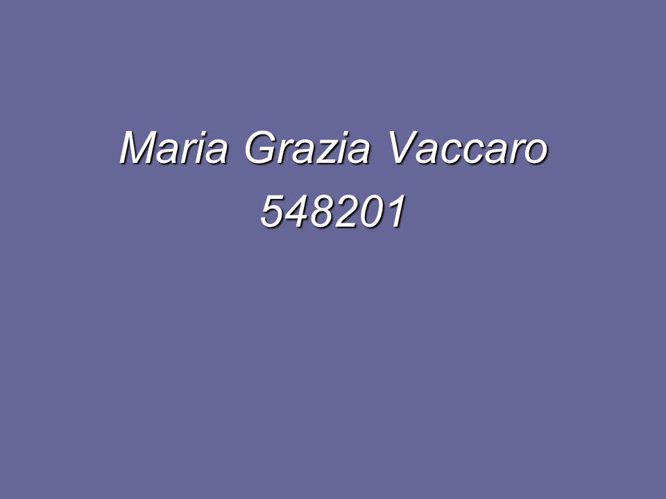 Maria Grazia Vaccaro 548201