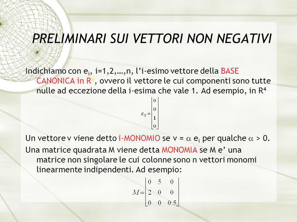 SISTEMI POSITIVI A TEMPO DISCRETO In questa presentazione consideriamo sistemi positivi a tempo discreto, descritti dallequazione alle differenze del primo ordine: dove x(t) e lo stato n-dimensionale, non negativo, u(t) lingresso m-dimensionale, non negativo, A e B sono matrici non negative (nxn e nxm, rispettivamente).