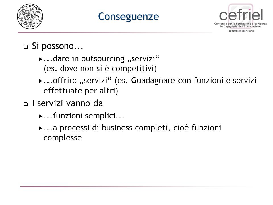 Virtual Enterprise: Scenario
