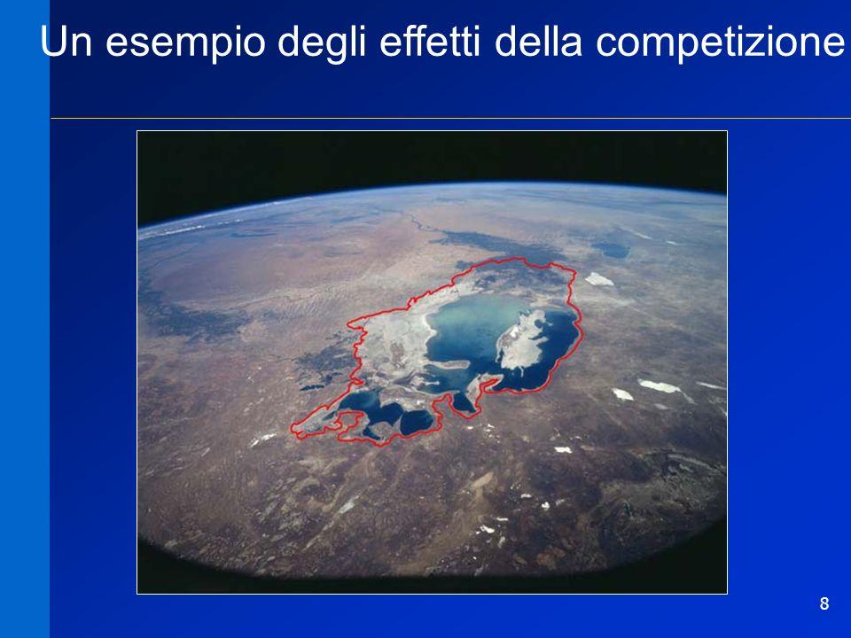 8 Un esempio degli effetti della competizione