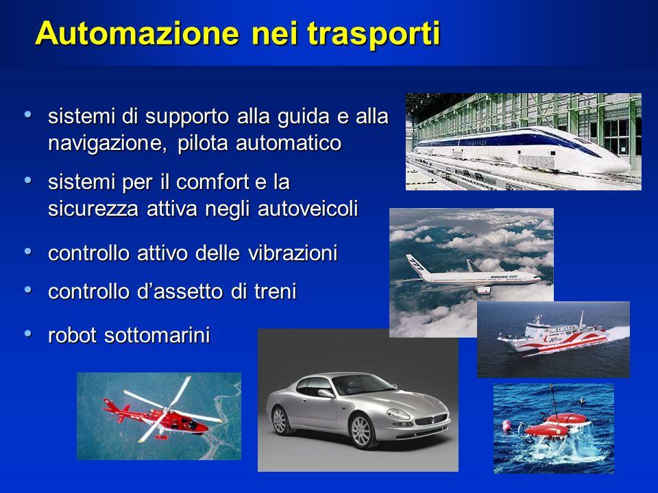 Automazione nei trasporti sistemi di supporto alla guida e alla navigazione, pilota automatico sistemi di supporto alla guida e alla navigazione, pilo