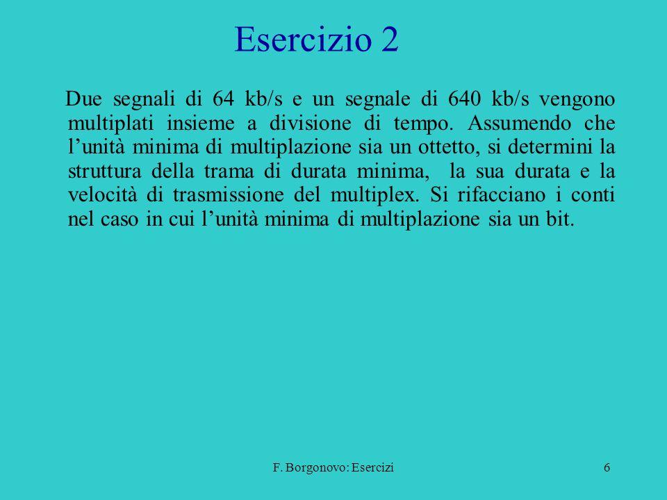 F.Borgonovo: Esercizi17 Esercizio 3c Soluzione.