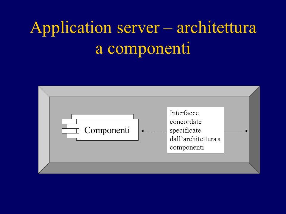 Message beans Message middleware JMS: –Principali domini (domain): Publish/subscribe (pub/sub) Point-to-point (PTP) – ogni msg consumato una volta sola