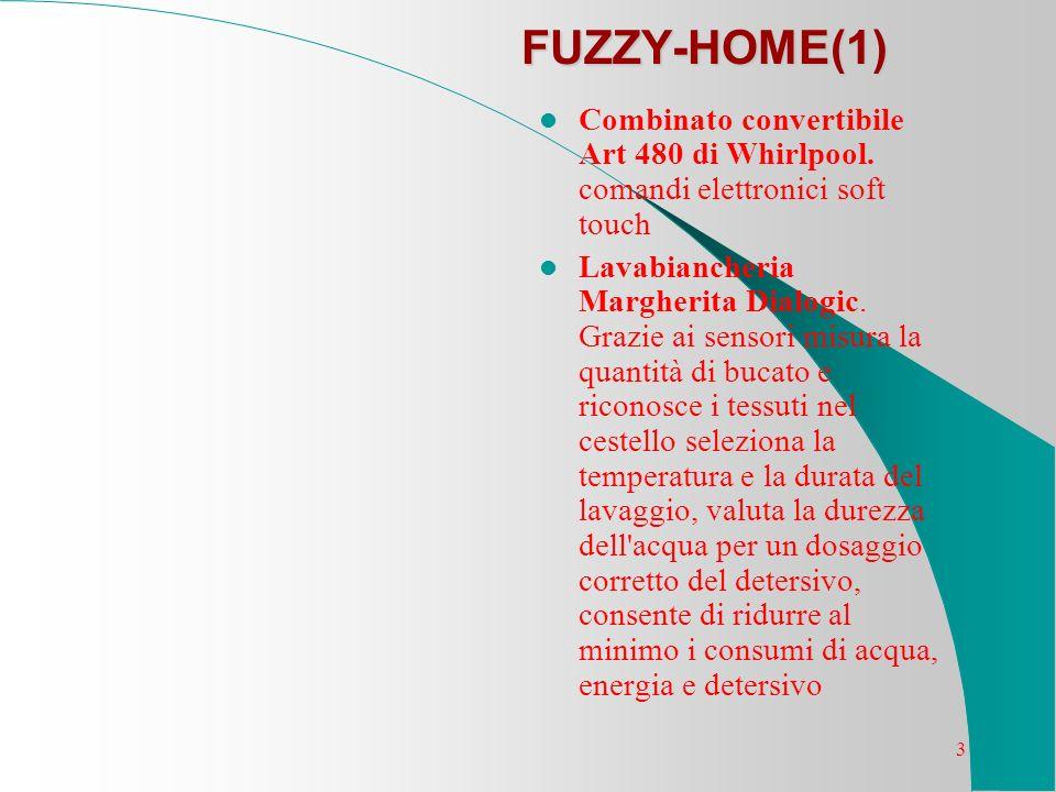 3 FUZZY-HOME(1) Combinato convertibile Art 480 di Whirlpool. comandi elettronici soft touch Lavabiancheria Margherita Dialogic. Grazie ai sensori misu