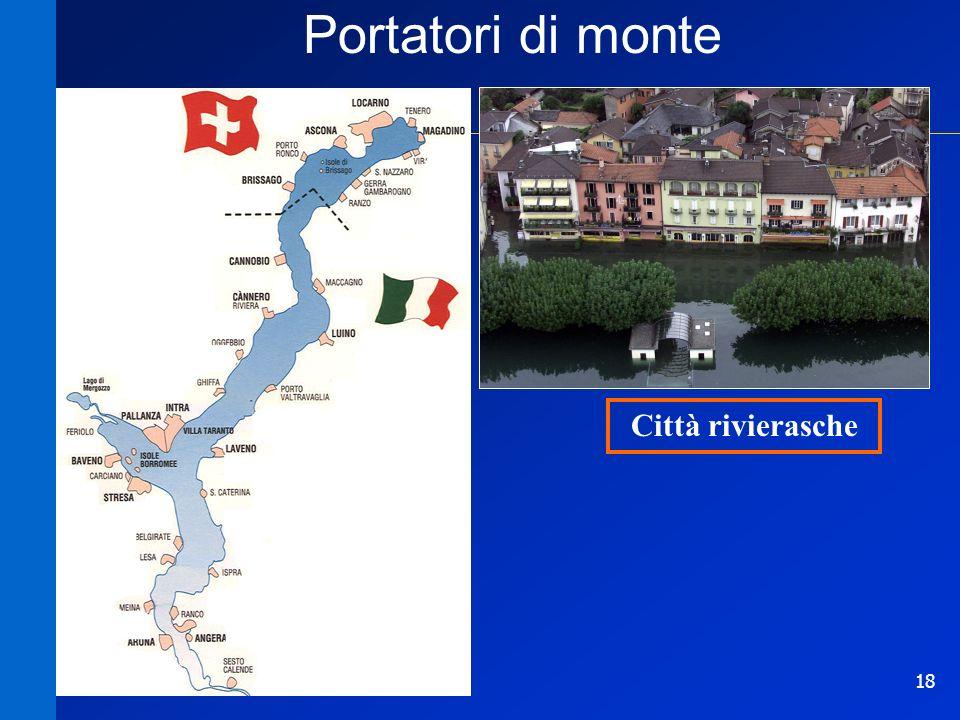 18 Portatori di monte Città rivierasche