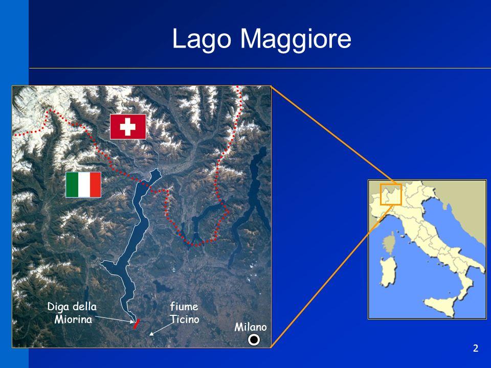 2 Lago Maggiore Milano Diga della Miorina fiume Ticino