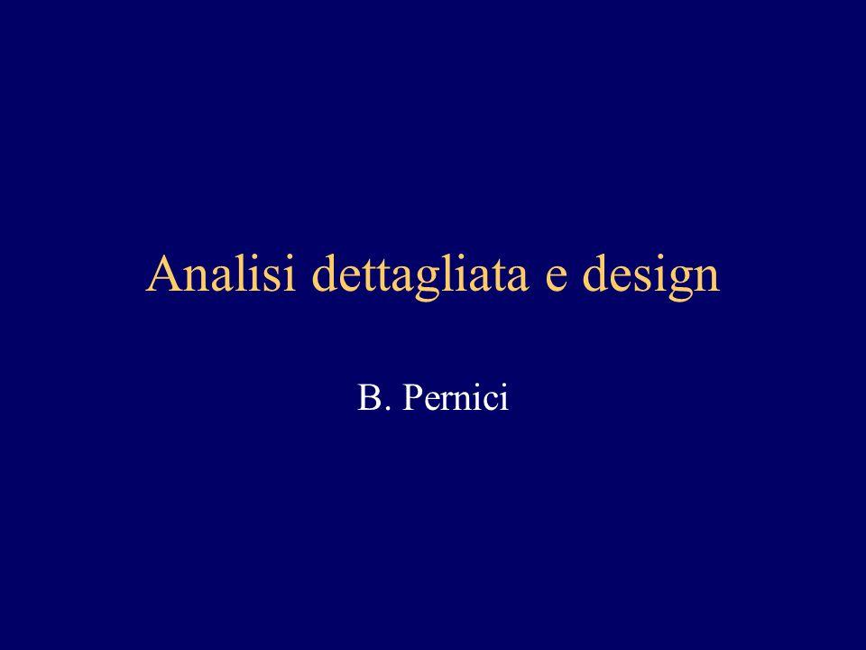 Analisi dettagliata e design B. Pernici