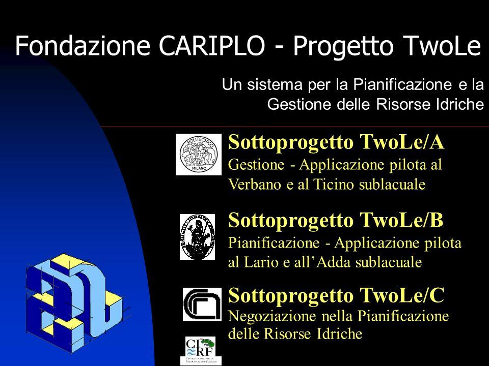 TwoLe 42 TwoLe/B Riunione davvio 06.05.2005 La domanda irrigua totale