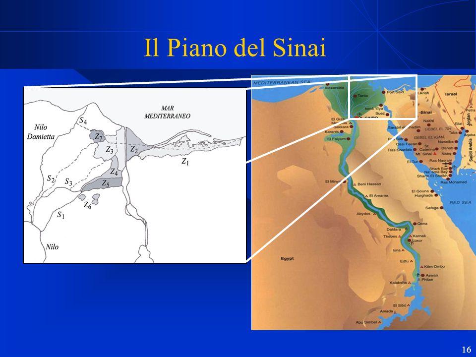 16 Il Piano del Sinai