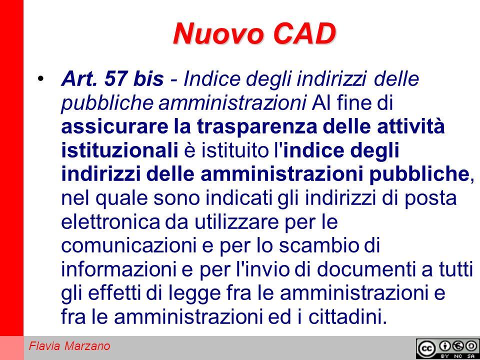 Flavia Marzano Nuovo CAD Art.