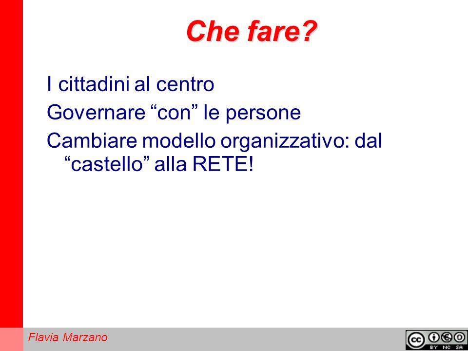 Flavia Marzano Che fare.
