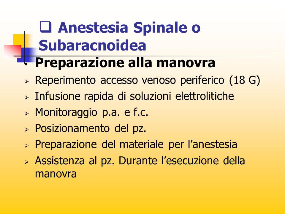 Metodiche anestesiologiche
