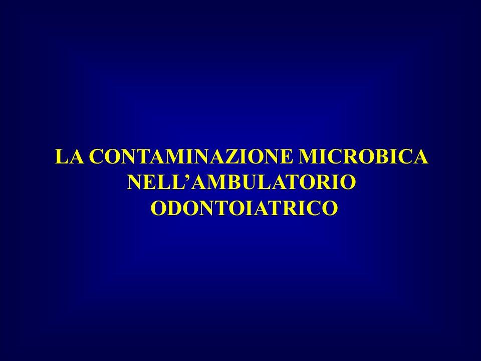 METODI DI RILEVAZIONE DELLA CONTAMINAZIONE MICROBICA DELLARIA CAMPIONAMENTO PASSIVO I.M.A.