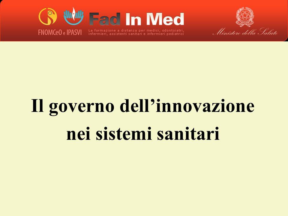Il governo dellinnovazione nei sistemi sanitari