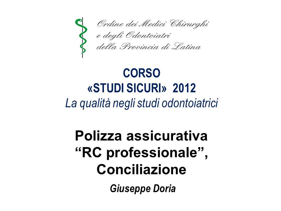 Azioni di risanamento e di recupero dellefficienza tecnica Doria Giuseppe & Bellisario Paola Snc Numero Iscrizione R.U.I.