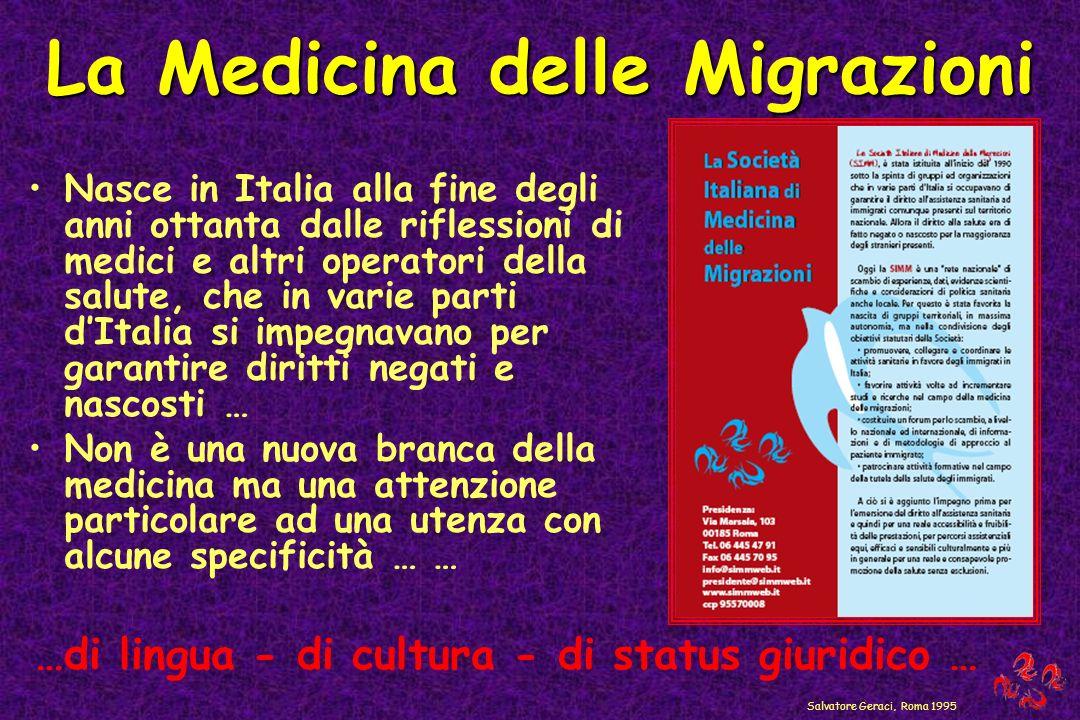 Nasce in Italia alla fine degli anni ottanta dalle riflessioni di medici e altri operatori della salute, che in varie parti dItalia si impegnavano per