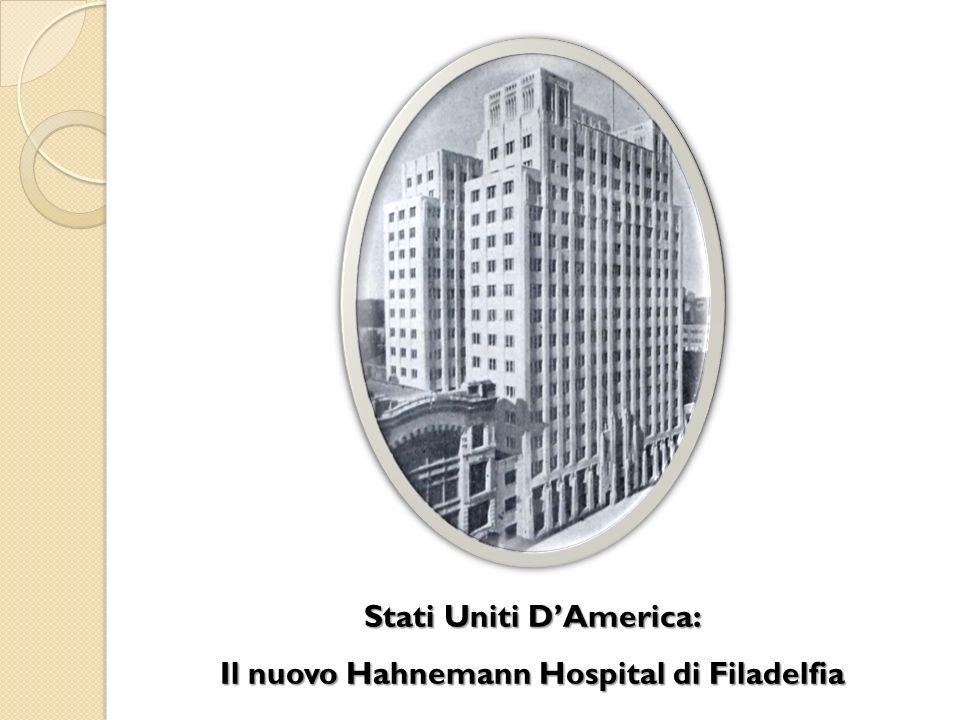 Stati Uniti DAmerica: Il nuovo Hahnemann Hospital di Filadelfia