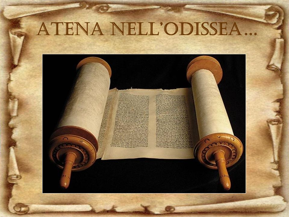 ATENA NELLODISSEA…