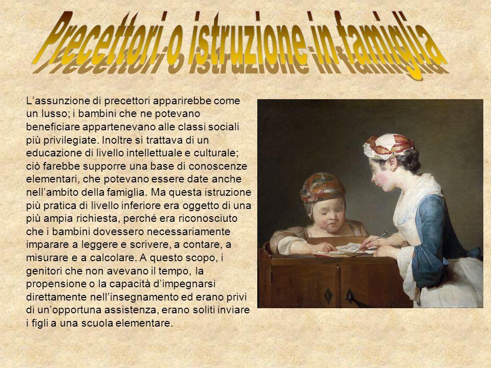 Le origini e il primo sviluppo di scuole elementari a Roma sono oggetto dipotesi, nessuna delle quali consente di stabilire con certezza la verità dei fatti.