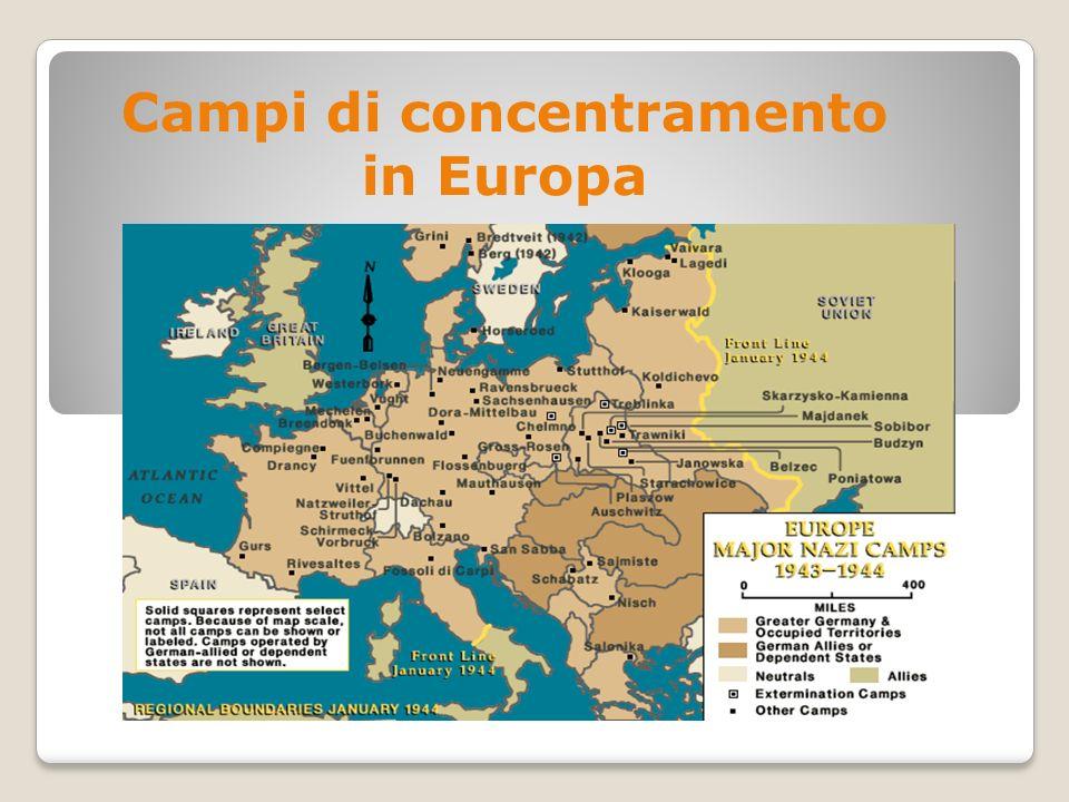 Campi di concentramento in Europa
