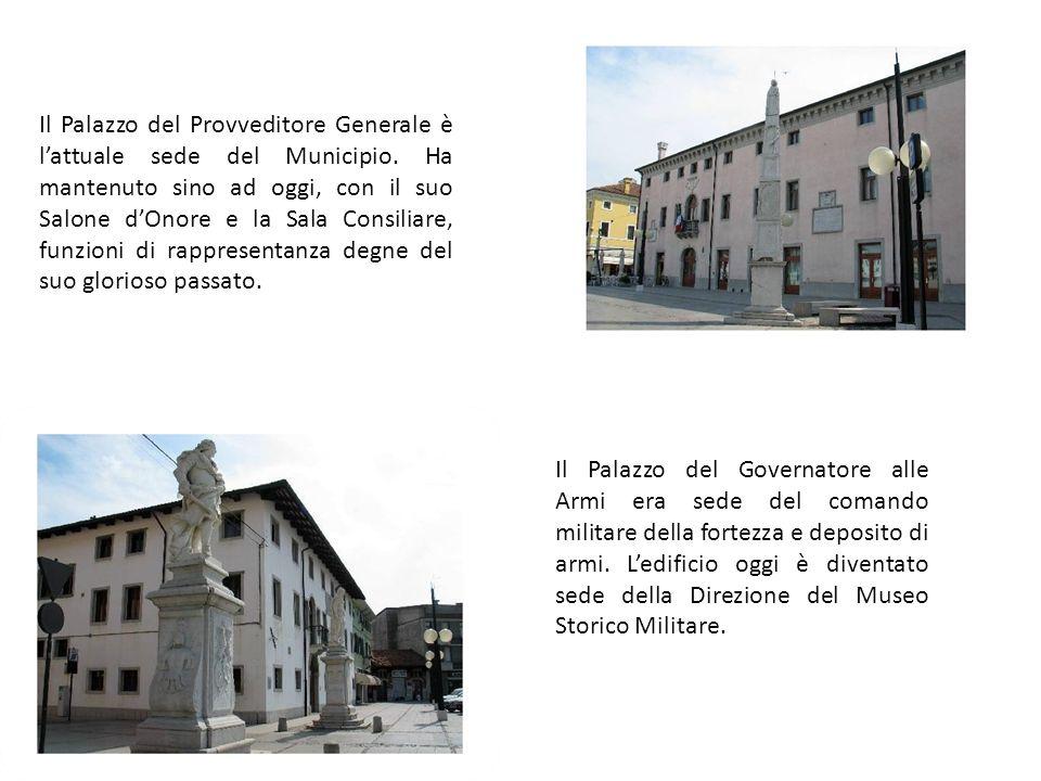 Il Palazzo del Provveditore Generale è lattuale sede del Municipio.