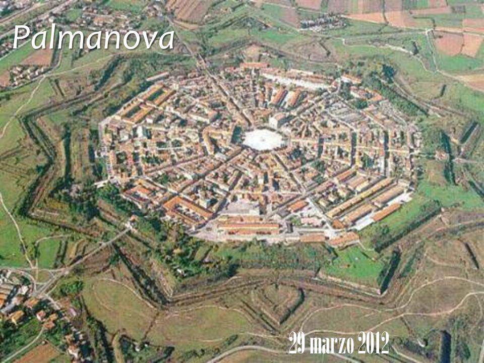 Costruita nel 1593 per volontà della Serenissima Repubblica di Venezia a difesa dei confini verso lAustria, la città-fortezza di Palmanova è stata proclamata monumento nazionale per il suo particolare sistema fortificato.