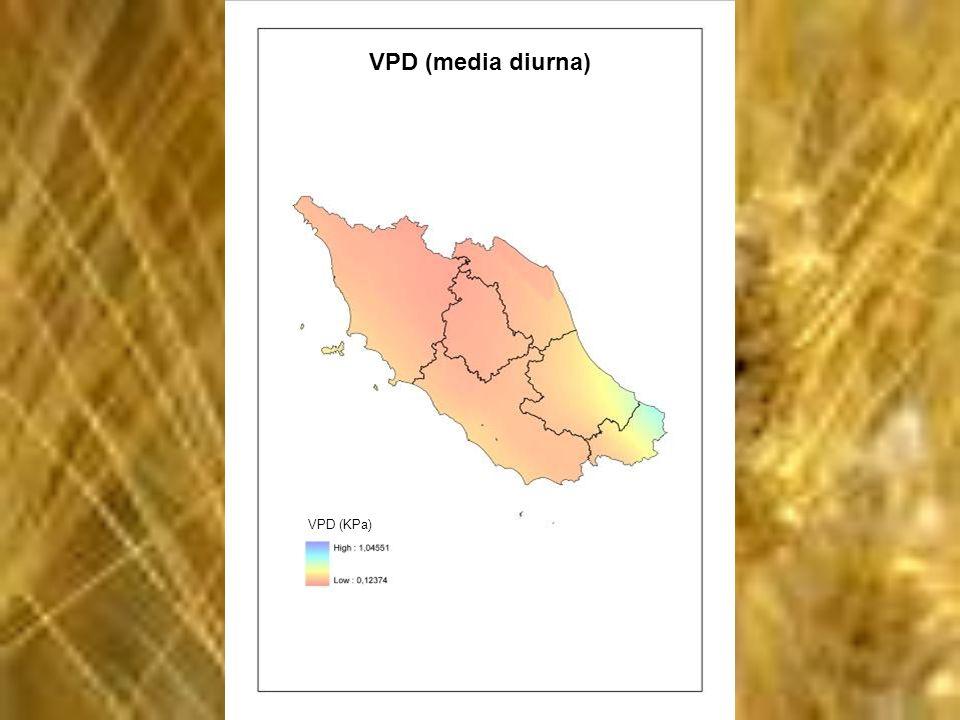 VPD (media diurna) VPD (KPa)