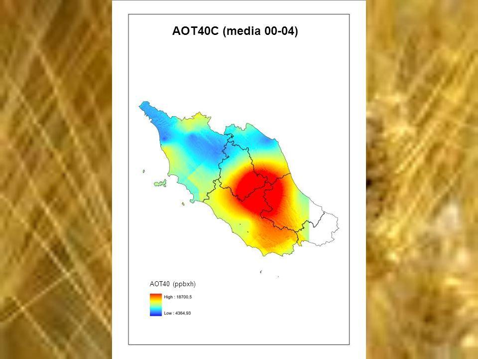 Rese cerealicole media 00-04 Rese (q/ha)