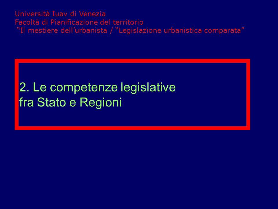 Gli organi del potere legislativo Il potere legislativo è esercitato dal Parlamento nazionale e dai Consigli regionali.