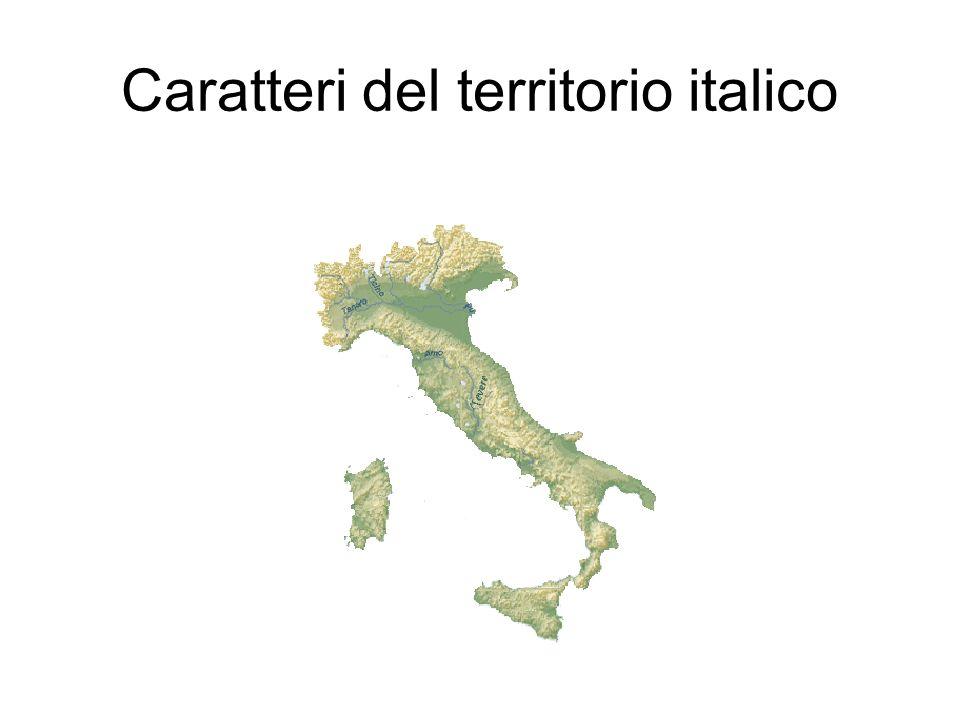 Un territorio giovane Solo il 20% di pianure Solo 1 milione di anni gran parte delle terre emerse Paese di vulcani: 4 vulcani diversamente attivi(Vesuvio,Etna,Stromboli, Vulcano)