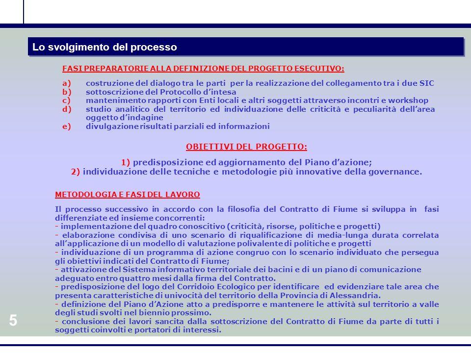 4 Le risorse messe a disposizione del processo RIPARTIZIONE FINANZIARIA DI MASSIMA PER LA PRIMA FASE: GESTIONE GENERALE DEL PROGETTO 10.000 euro (10%) ANALISI CONOSCITIVA E CARATTERIZZAZIONE 20.000 euro (20 %) VALUTAZIONE INTEGRATA 20.000 euro (20 %) GESTIONE DELLINFORMAZIONE 15.000 euro (15%) MONITORAGGIO DEL PROGETTO 10.000 euro (10%) PARTECIPAZIONE 15.000 euro (15 %) COMUNICAZIONE 10.000 euro (20 %)