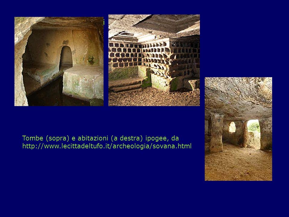 Il Patrimonio: Vitozza Con le sue 200 grotte scavate nel tufo, Vitozza è uno dei più grandi insediamenti rupestri d Italia.
