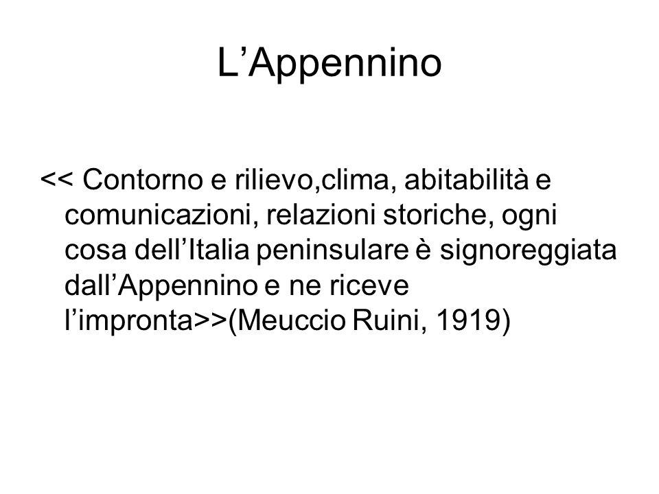 LAppennino >(Meuccio Ruini, 1919)