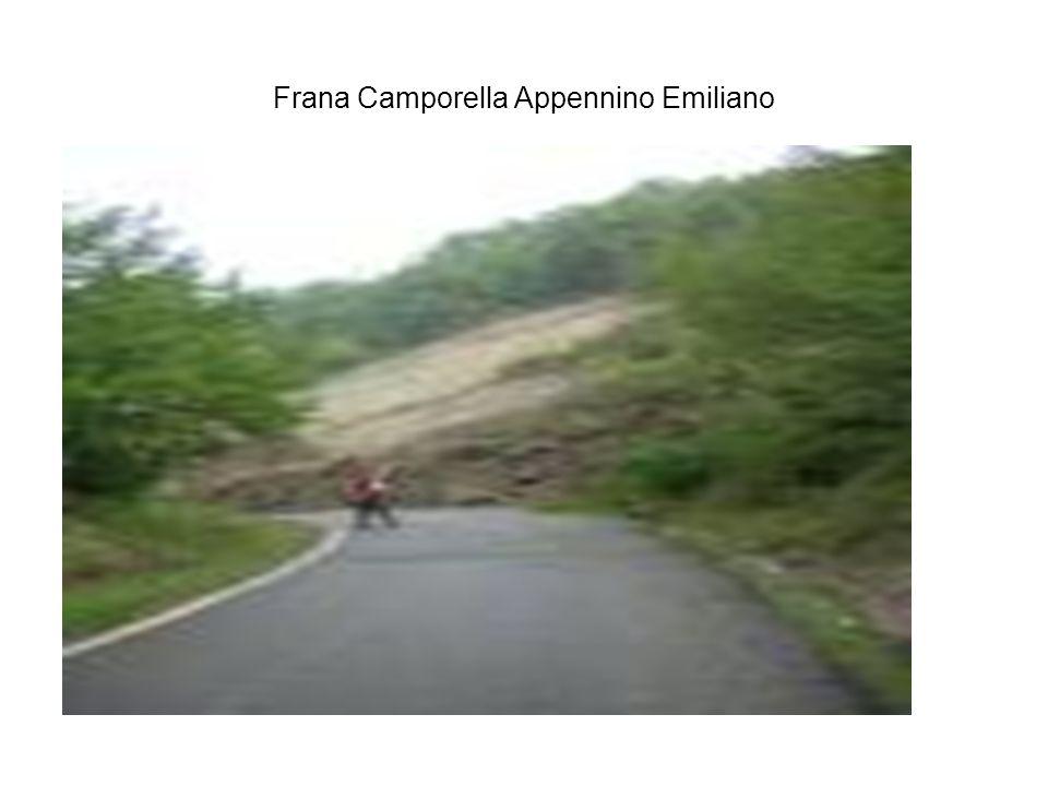 Frana Camporella Appennino Emiliano